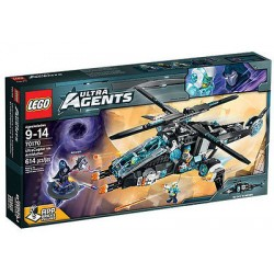 LEGO ultra agenti 70.170 ultracopter vs antimaterije postaviti novo u kutiji zatvorene