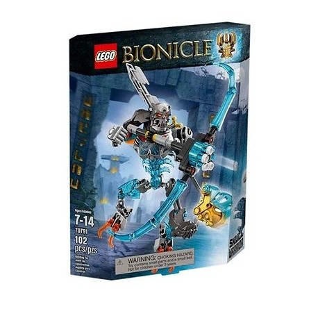 lego bionicle 70791 skull warrior action figure set new in box sealed