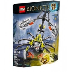 lego Bionicle 70794 kallo skorpioni nukke asettaa uusia kohtaan suljettu