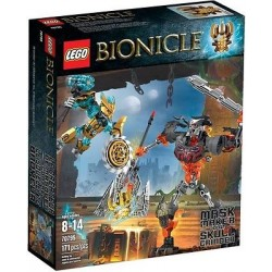 lego bionicle 70795 mask maker vs skull grinder action figuer new in box sealed