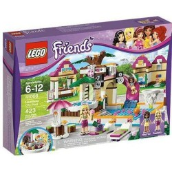 LEGO Friends 41008 Heartlake City Pool Andre Isabella Set nye i eske Sealed