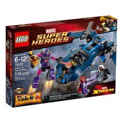 lego superhelte 76022 x-mænd vs sentinel sat nye i rubrik forseglet