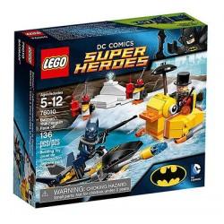 lego supersankareista 76010 Batman pingviini aloituksia asettaa uusia kohtaan suljettu