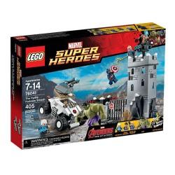 lego 76041 marvel superhelte Avengers den hydra fæstning smadre indstillet