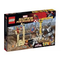 lego super heros 76.037 næsehorn og sandman superskurk hold ny forseglet