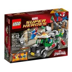 密封されたボックスに新しい設定スーパーヒーロー76015のdoc OCKトラック強盗をLEGO