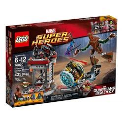 lego superhjältar 76020 knowhere fly uppdrag sätta nya i rutan förseglade