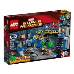 lego superhéroes 76018 laboratorio Hulk Smash establece nuevo en caja sellada