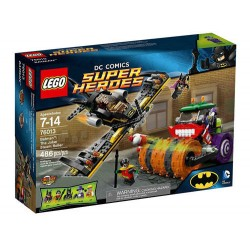 lego super heroes 76013 batman the joker steam roller set new in box sealed