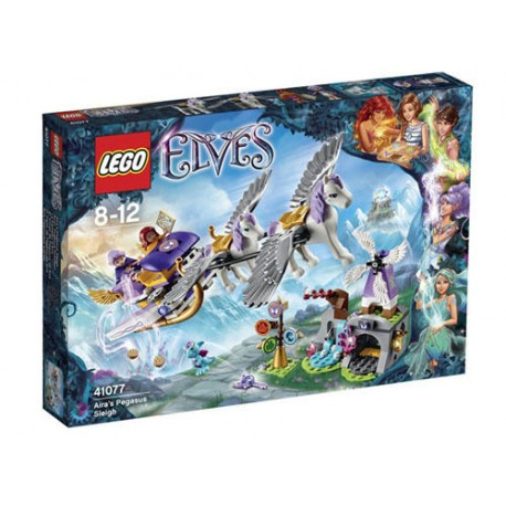 lego 41077 elves aira's pegasus sleigh toy figure set new in box