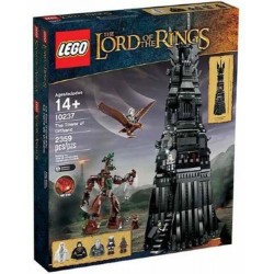 lego 10237 lego lord of the rings 10237 tower of orthanc in box sealed