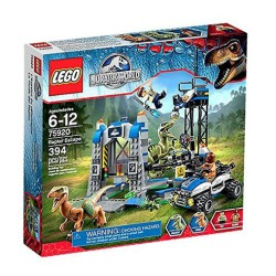 lego jurassic world 75920 raptor escape set new in box sealed