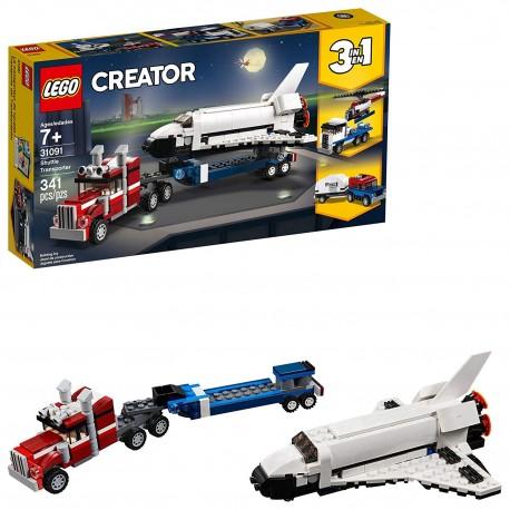 lego creator 3in1 shuttle transporter 31091