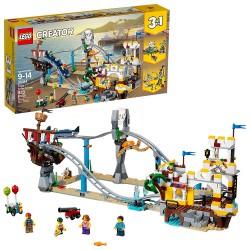 lego creator 3in1 pirate roller coaster 31084