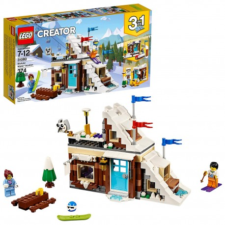 lego creator 3in1 modular winter vacation 31080