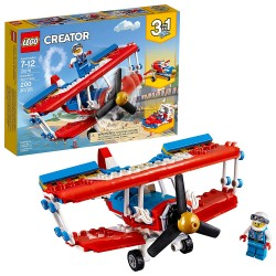 lego creator 3in1 daredevil stunt plane 31076