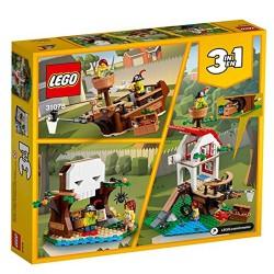 lego creator treehouse treasure 31078