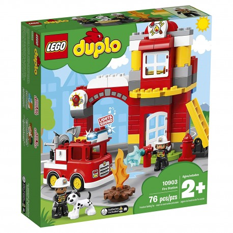 lego duplo town fire station 10903