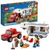 lego city pickup caravan 60182