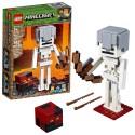 lego minecraft bigfig skeleton with magma cube 21150