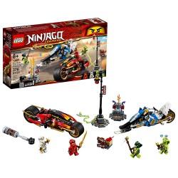 lego ninjago legacy kais blade cycle zanes snowmobile 70667