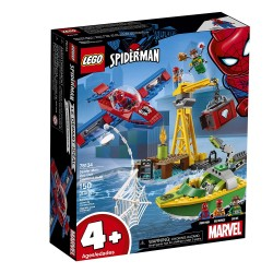 lego marvel spider man doc ock diamond heist 76134
