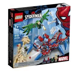lego marvel spider mans spider crawler 76114