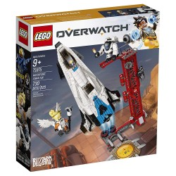 lego overwatch watch point gibraltar 75975