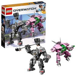 lego overwatch dva and reinhardt 75973