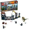 lego 75931 jurassic world dilophosaurus outpost attack playset dinosaur figures