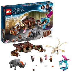 lego fantastic beasts newts case of magical creatures 75952