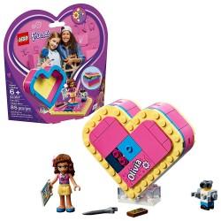 lego friends olivias heart box 41357