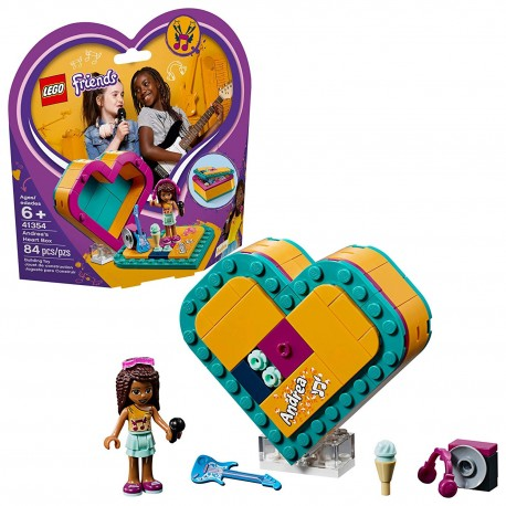 lego friends andreas heart box 41354