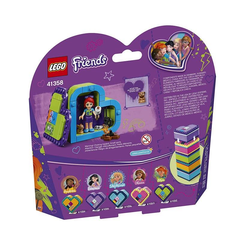 lego friends mias heart box 41358