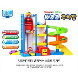 pororo moving elevator parking