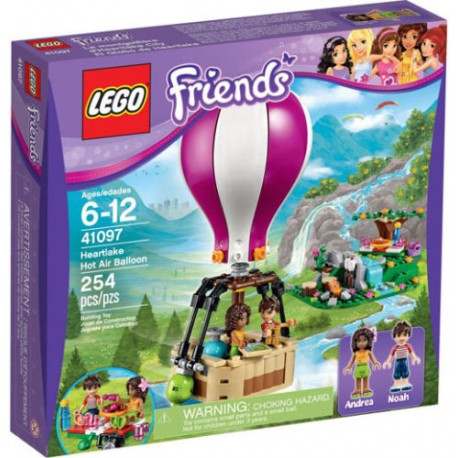 LEGO Friends 41097 Heartlake Hot Air Balloon 41097 New In Box Sealed