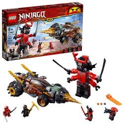 lego ninjago legacy coles earth driller 70669