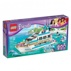 LEGO Friends 41015 Venner Dolphin Cruiser Set New In Box Sealed