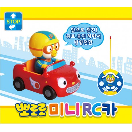 pororo radio control mini car