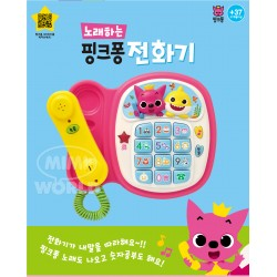 pinkfong shark family melody phone
