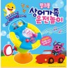 pinkfong shark family driving play