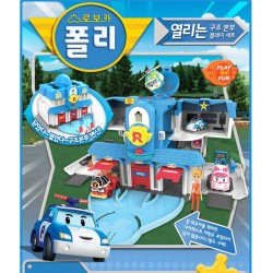 robocar poli open rescue headquarters