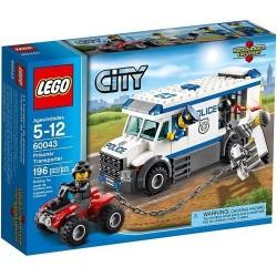 lego city 60043 politiet fange transpoter