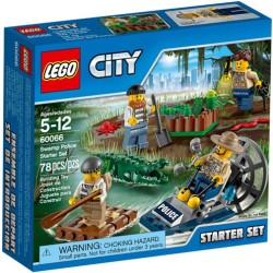 lego city 60066 city police lego swamp police starter