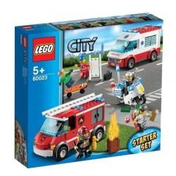 ciudad lego 60023 de la ciudad de la ciudad de rescate de emergencia de arranque