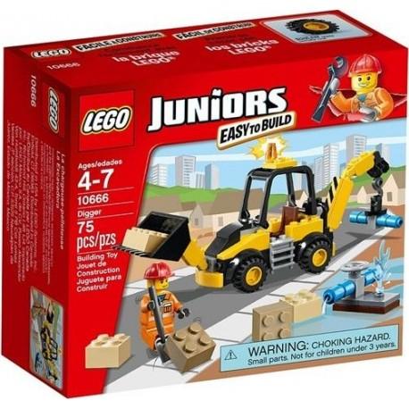 lego city 10666 Juniors 10666 digger