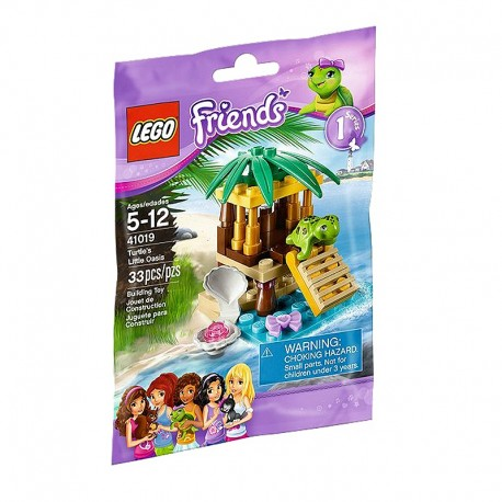 lego friends 41019 turtles little oasis new in box sealed