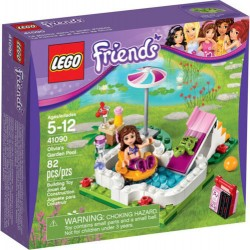 lego friends 41090 olivias garden pool 41090 new in box sealed