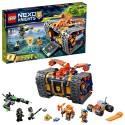 lego nexo knights axls rolling arsenal 72006