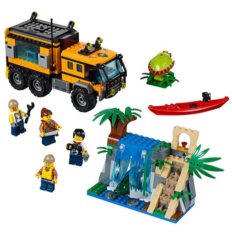 lego city jungle explorers jungle mobile lab 60160